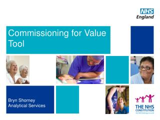 Commissioning for Value Tool