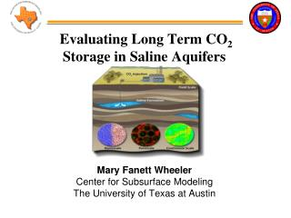 Evaluating Long Term CO 2  Storage in Saline Aquifers