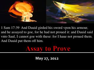 Assay to Prove