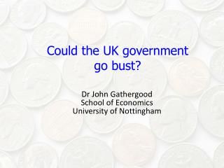 Could the UK government go bust?