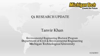 Q1 Research Update
