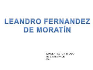 LEANDRO FERNANDEZ DE MORATÍN