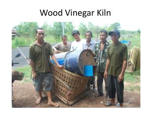 Wood Vinegar Kiln