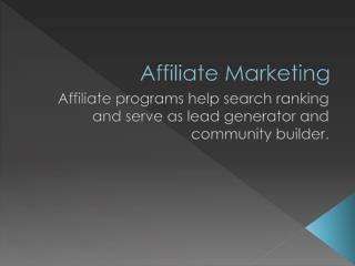 What An Affiliate Marketing Beginner Needs To Know