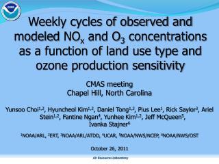 CMAS meeting Chapel Hill, North Carolina