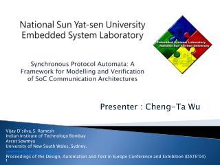 Presenter : Cheng-Ta Wu