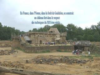 La construction du ch teau s  talera  sur environ 25 ans   1998-2023   soit   1229-1254