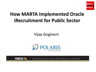 How MARTA Implemented Oracle iRecruitment for Public Sector