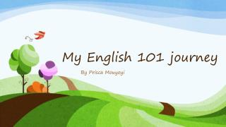 My English 101 journey