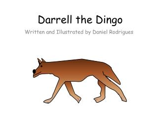 Darrell the Dingo