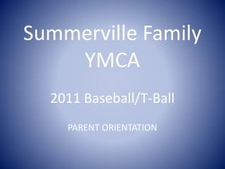 Summerville Family YMCA