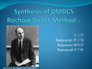 Synthesis of DMDCS Rochow  Direct Method [1]