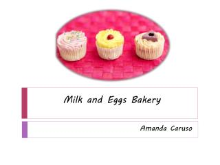 Milk and Eggs Bakery
