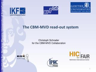 The CBM- MVD read -out  system