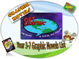 Year 3-7 Graphic Novels List