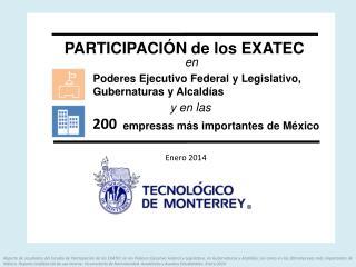 Poderes Ejecutivo Federal y Legislativo, Gubernaturas y Alcaldías