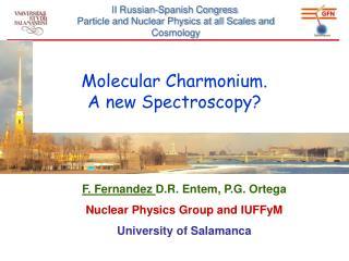 Molecular  Charmonium .  A new  Spectroscopy ?