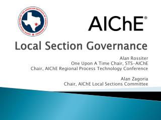Local Section Governance