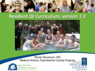 Resident QI Curriculum, version 2.0