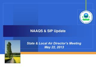 NAAQS & SIP Update