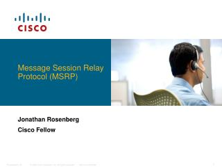 Message Session Relay Protocol (MSRP)