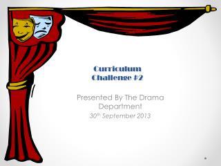 Curriculum Challenge #2