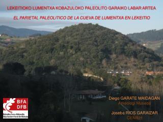 LEKEITIOKO LUMENTXA KOBAZULOKO PALEOLITO GARAIKO LABAR ARTEA