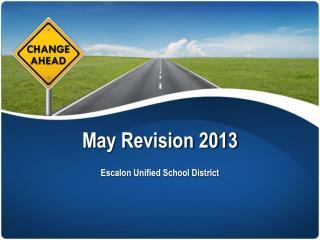 May Revision 2013