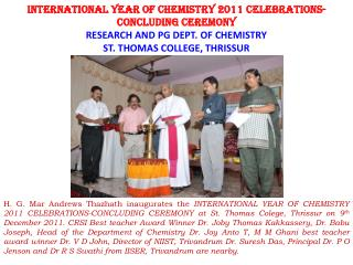 Dr. P  Parameswaran  from National Institute of Technology(NIT) Calicut,