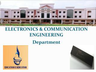 ELECTRONICS & COMMUNICATION ENGINEERING Department