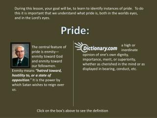 Pride: