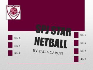 SPJ STAR NETBALL