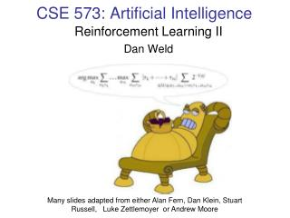 CSE  573 : Artificial Intelligence
