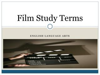 Film Study Terms