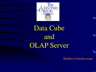 Data Cube  and  OLAP Server