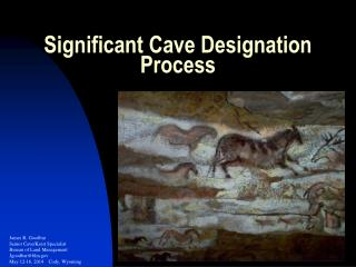 Significant Cave Designation Process