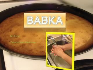 My Food Taleisha  Stec-Marksman