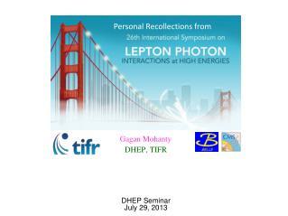 DHEP Seminar February 2, 2012