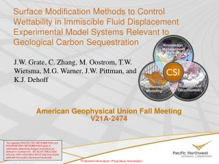 American Geophysical Union  Fall Meeting V21A-2474