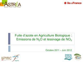 L'agriculture en Ile de  France