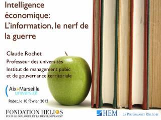 Intelligence économique: L'information, le nerf de la guerre