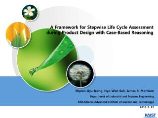 A Framework for Stepwise Life Cycle Assessment during Product Design with Case-Based Reasoning