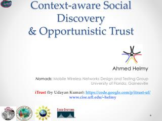 Context-aware Social Discovery & Opportunistic Trust