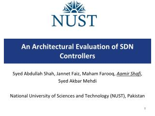 An Architectural Evaluation of SDN Controllers