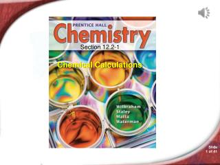 Chemistry 12.2