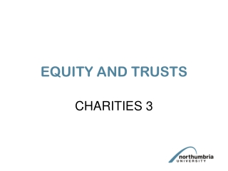 Public Purpose Trusts Charities