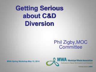 Getting Serious about C&D Diversion
