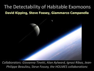 The  Detectability  of Habitable  Exomoons