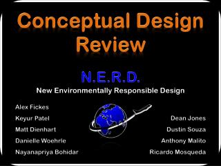 Conceptual Design Review