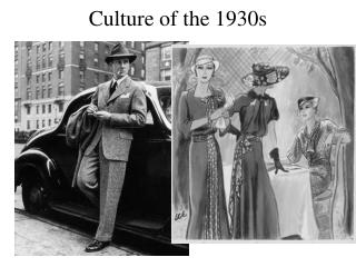 Culture of the 1930s